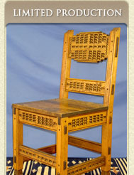 Specializing In Authentic, Hand Carved New Mexican Style Furniture.